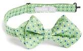 Nordstrom 'Double Dot' Silk Bow Tie (Big Boys)