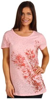 Roper Spring Blossom Distressed Cross Wings (Pink) - Apparel