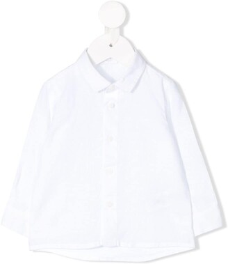 Il Gufo Long Sleeve Button Down Shirt