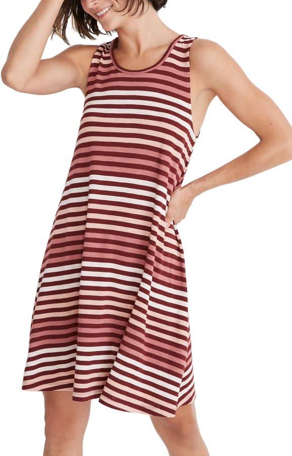 6555ca16654 Madewell Striped Dress - ShopStyle