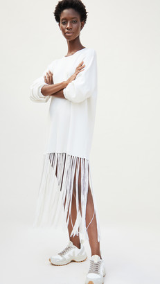 Simon Miller Evita Fringe Sweater Dress