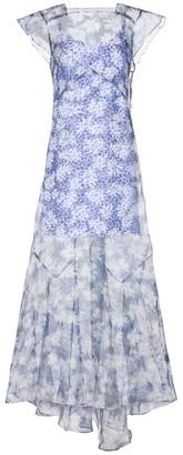 Sir. Anais floral silk organza maxi dress