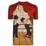 Dolce And Gabbana Family Saxophone T Shirt