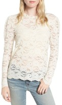 Hinge Women's Lace Top