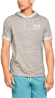 Under Armour Men Sportstyle Terry Short Sleeve Hoodie