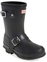 Hunter Girl's 'Original Biker' Waterproof Rain Boot