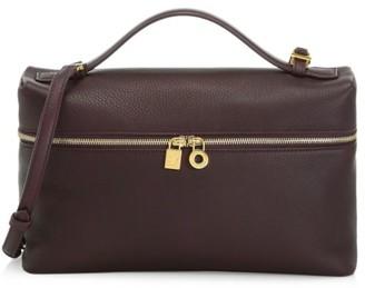Loro Piana Medium Neo Leather Shoulder Bag