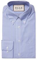 Thomas Pink Doyle Stripe Classic Fit Traveler Dress Shirt