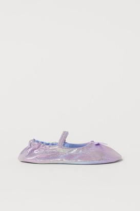 H&M Shimmery Dance Shoes - Purple