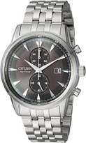 Citizen Men's 'Eco-Drive' Quartz Stainless Steel Dress Watch, Color:-Toned (Model: CA7000-55E)