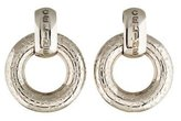 Celine Doorknocker Clip-On Earrings
