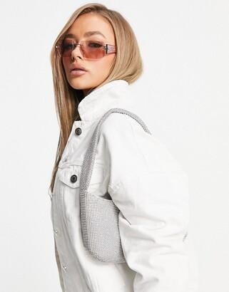 Brave Soul chas white denim jacket
