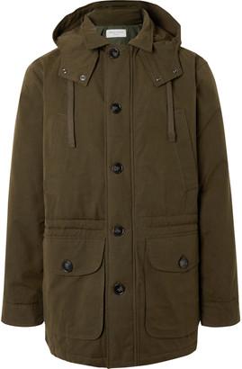 Officine Generale Cameron Gabardine Hooded Field Jacket