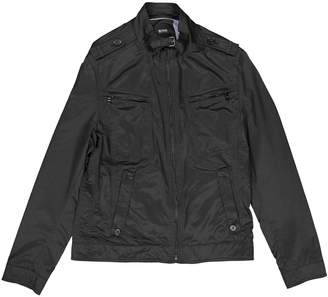 BOSS Black Polyester Jackets