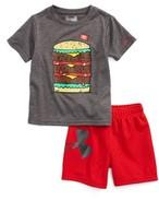 Under Armour Infant Boy's Triple Double Heatgear T-Shirt & Shorts Set