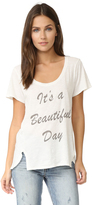 Sol Angeles Beautiful Day Double Split Tee