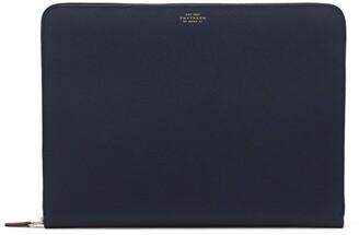 Smythson Large Leather Panama Folio
