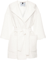 Blumarine Tweed Raincoat