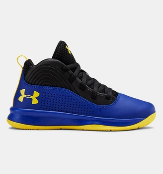 Under Armour Pre-School UA Lockdown 4 Basketball Shoes