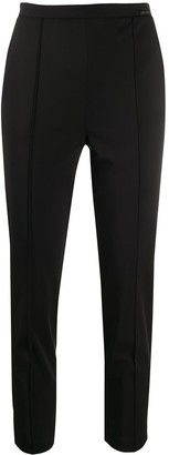 Elisabetta Franchi Cropped Slim Fit Trousers