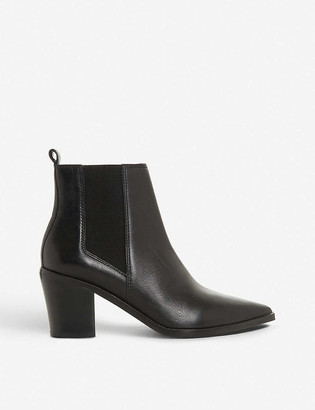 Dune Permit pointed-toe leather chelsea boots