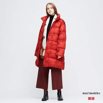 Uniqlo WOMEN Marimekko Ultra Light Down Cocoon Coat