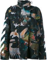 Off-White Birds Diagonal jacket - women - Cotton/Polyester - XS