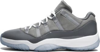 Jordan Air 11 Retro Low 'Cool Grey' Shoes - Size 8