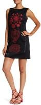 Desigual Scarlett Embroidered Boatneck Dress