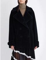 Maison Margiela Oversized alpaca and wool-blend coat