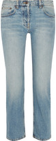 The Row Ashland Cropped Mid-rise Straight-leg Jeans - Light denim