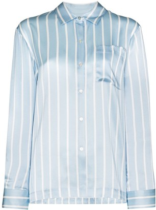 ASCENO The London striped pyjama top