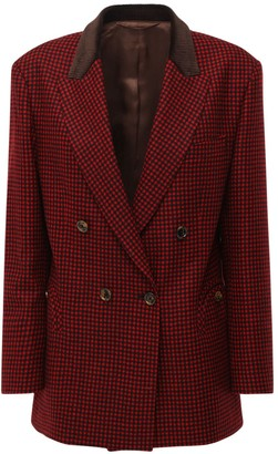 BLAZÉ MILANO Double Breasted Wool Jacket