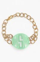 Moon and Lola Women's 'Annabel' Medium Personalized Monogram Bracelet