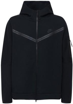 Nike Cotton Blend Zip-Up Sweatshirt Hoodie