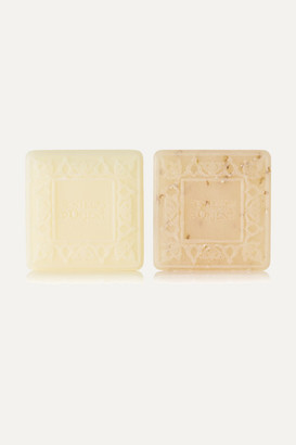 Senteurs D'orient + Net Sustain Ma'amoul Soap Orange Blossom And Almond Exfoliant Refill Duo