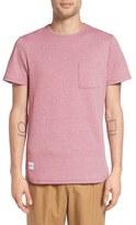 NATIVE YOUTH Men's 'Zonal' Zigzag Pocket T-Shirt