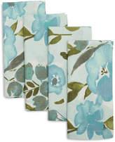 Sur La Table Light Blue Summer Floral Napkins