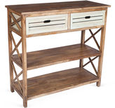 Butler Specialty Carter 2-Drawer Console, Natural