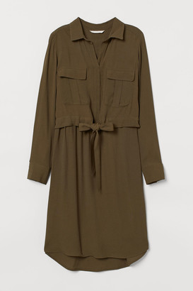 H&M MAMA Nursing Dress - Green