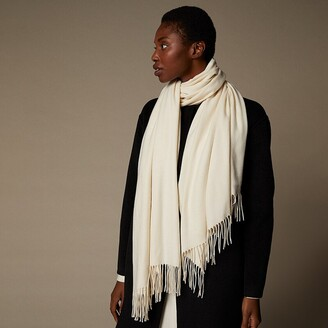 Love & Lore Love And Lore Supersoft Scarf Solid Ivory