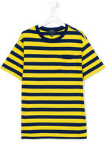 Ralph Lauren teen striped pocket T-shirt - kids - Cotton - 14 yrs