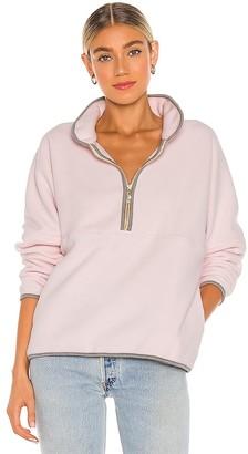 DONNI Polar Half Zip Pullover