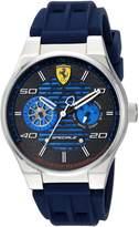 Ferrari Men's 830430 Sport Speciale Multifunction 44mm Ss Case W. Blue Accents Watch
