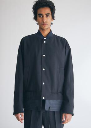 Jil Sander Men's Avalon Jacket in Midnight, Size 46 | 100% Cotton