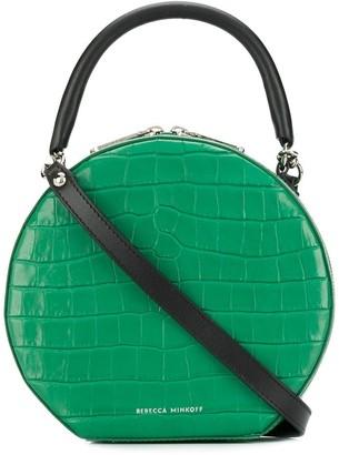 Rebecca Minkoff croc-effect circle bag
