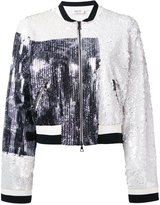 Aviu embroidered bomber jacket