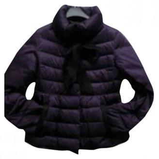 Carolina Herrera Purple Polyester Leather jackets