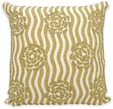 Kathy Ireland Home by GorhamRose Garden Square Throw Pillow