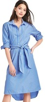 Gap Stripe midi shirtdress